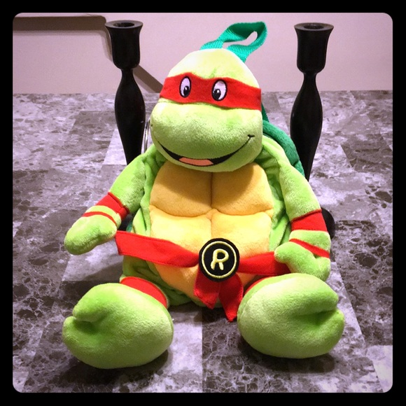 Turtles Raphael Backpack Mutant Teenage Ninja wOk0PX8n